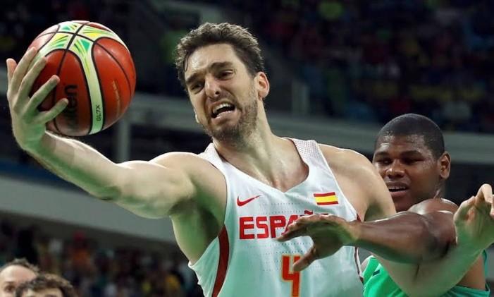 O pivô espanhol Pau Gasol, jogador do San Antonio Spurs Foto: Divulgação / COI