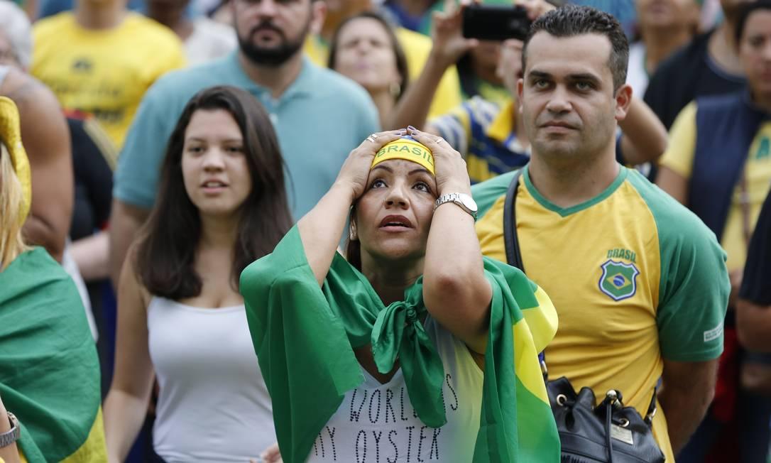 ... e sofrimento com ponto da Itália Agência O Globo