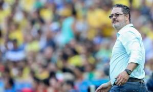 Rogerio Micale, treinador levou o time brasileiro ao ouro inédito no futebol Foto: Agência O Globo