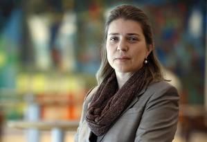 """Visão. Tatiana Grecco, da Itaú Asset, destaca a """"vantagem estratégica"""" Foto: O Globo / Edilson Dantas"""