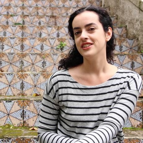 Julia Wähmann incorporou ao livro referências à companhia de dança da alemã Pina Bausch Foto: Isabel W. De Nonno