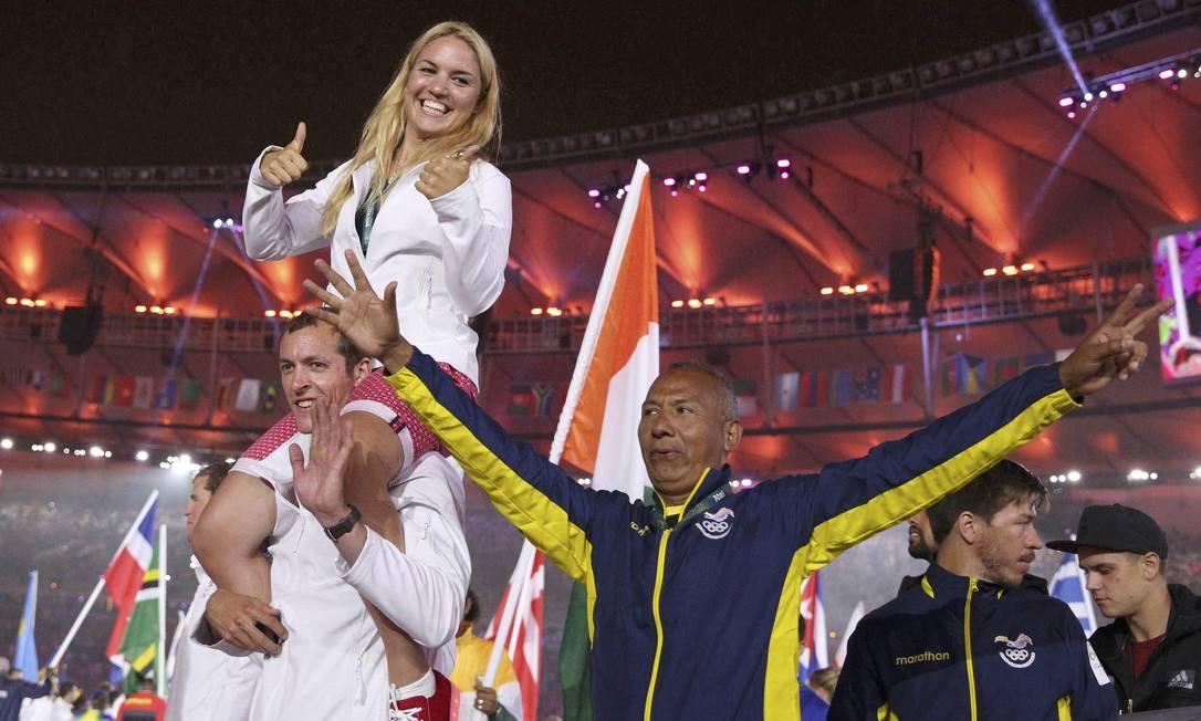 Sorrisos, alegria, a Olimpiada do Rio vai deixar saudade STOYAN NENOV / REUTERS