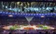 Cerimônia de encerramento da Olimpíada do Rio