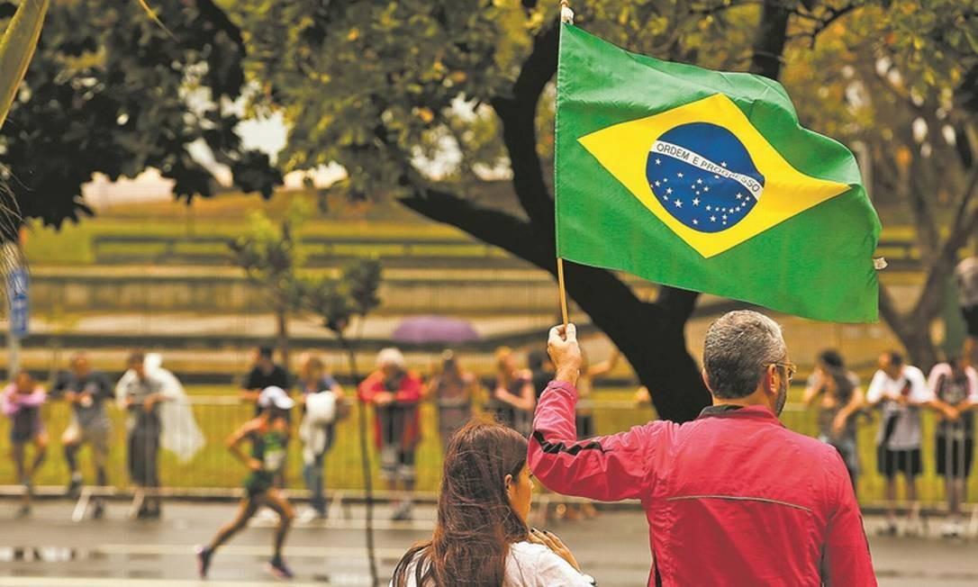 Brasileiros vibraram como nenhuma outra torcida na história da Olimpíada, qualquer que fosse o esporte Foto: Guilherme Leporace
