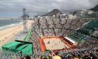 Arena de Copacabana foi sucesso de público Foto: Marcelo Carnaval / Agência O Globo