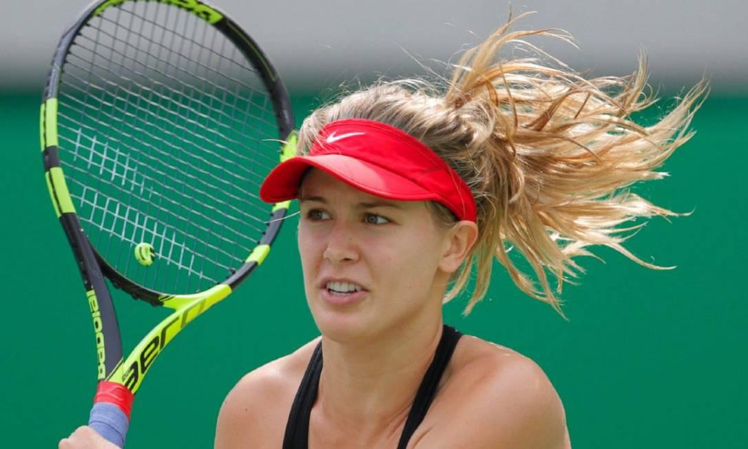A tenista canadense Eugenie Bouchard não levou o ouro, mas conquistou muitos corações no Parque Olímpico AP