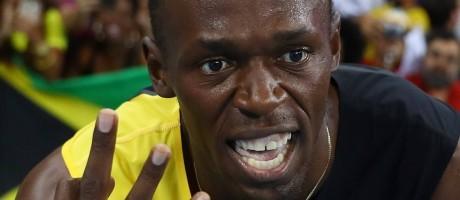 Usain Bolt se tornou o primeiro tricampeão olímpico dos 100m, dos 200m e do revezamento 4x100m Foto: KAI PFAFFENBACH / REUTERS