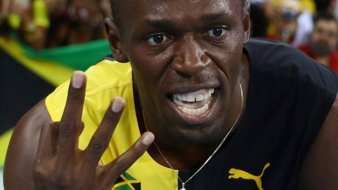 66f18fe601 Usain Bolt se tornou o primeiro tricampeão olímpico dos 100m