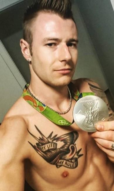 Ivan Zaytsev conquistou a prata no vôlei, mas em nossa lista de musos ele é um forte candidato ao ouro olímpico Reprodução/Instagram