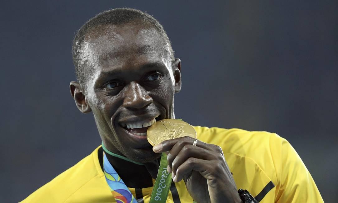 O homem mais rápido do mundo consquistou medalhas e corações no Rio de Janeiro. Recordista em três provas de velocidade, Usain Bolt deixa muitos atletas para trás também no quesito beleza STOYAN NENOV/REUTERS