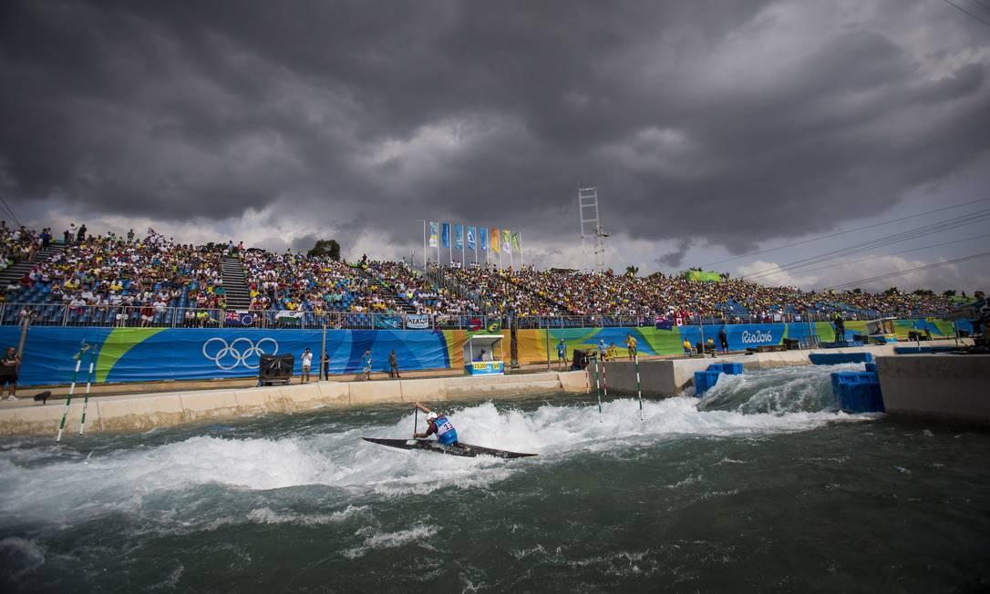Prova de Canoagem Slalom nos Jogos Rio-2016 Alexandre Cassiano / O Globo/NOPP