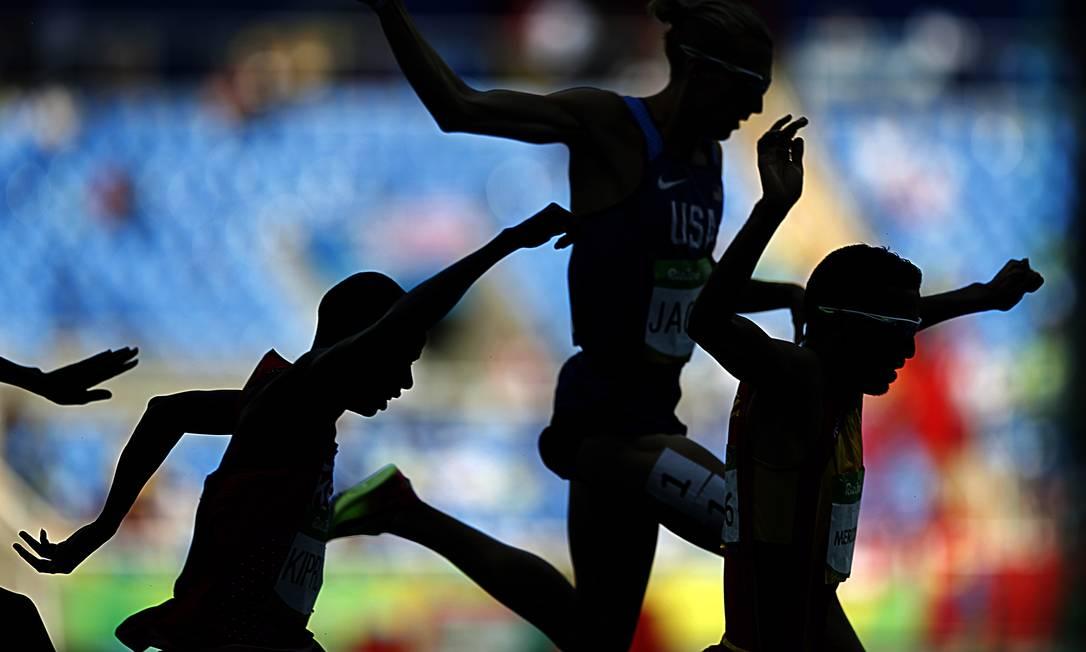 Prova de Atletismo, 400m com barreiras Jorge William / Agência O Globo