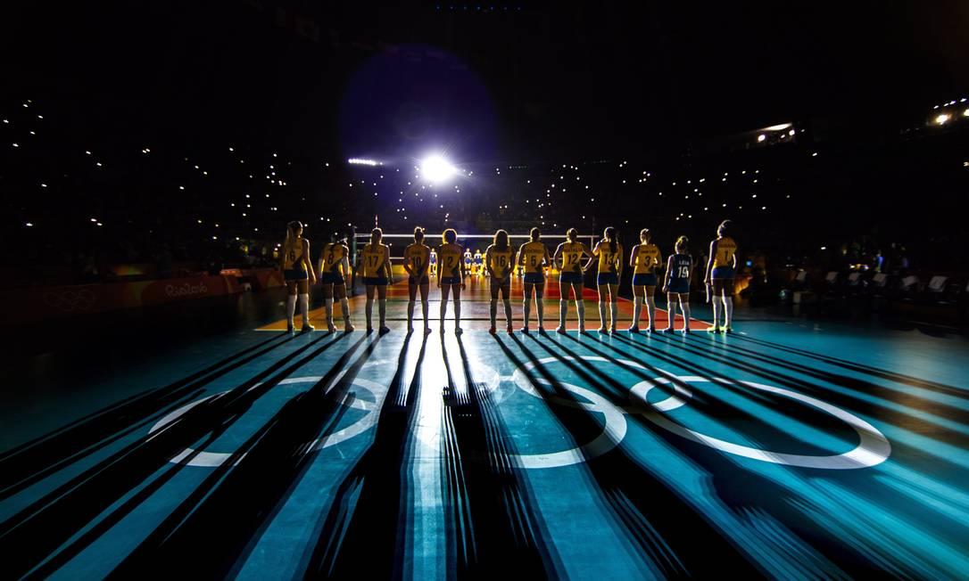 Quartas de final do vôlei feminino, o Brasil encara a China, no Maracanazinho Daniel Marenco / Agência O Globo