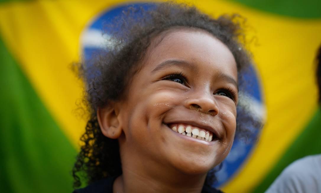 Família da campeã olímpica Rafaela Silva. Na foto a prima Giovana Silva Pablo Jacob / Agência O Globo
