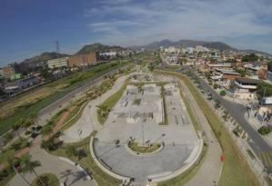 Novo trecho do Parque Madureira Foto: Felipe Hanower / Agência O Globo