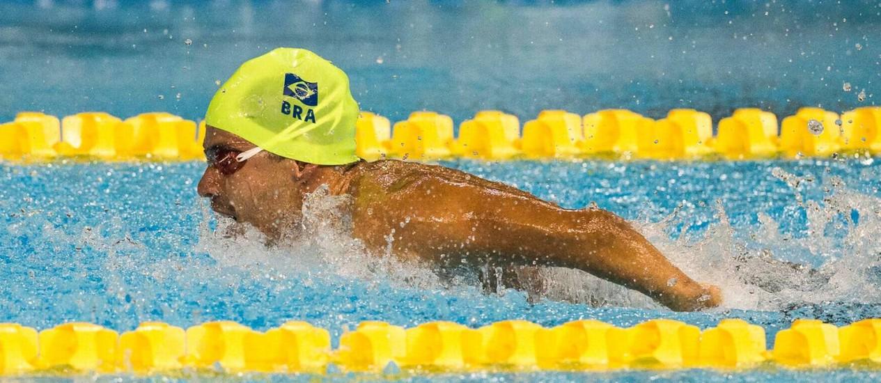 Nadador paralímpico Daniel Dias Foto: Daniel Zappe/MPIX/CPB