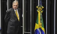 O senador Tasso Jereissati (PSDB-CE) Foto: Jefferson Rudy / Agência O Globo
