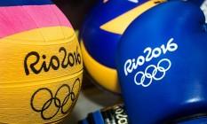 Objetos utilizados na Olimpíada estão em leilão Foto: Divulgação