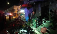 Bombas explodiram perto de hotel na cidade de praia tailandesa de Pattani Foto: Twitter / Reprodução