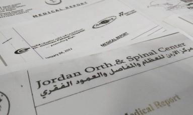 Relatórios médicos de centenas de pessoas inocentes estão entre os documentos publicados pelo Wikileaks Foto: Raphael Satter / AP
