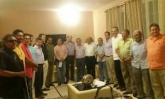 Representantes do governo da Colômbia e das Farc em Havana Foto: Reprodução Twitter
