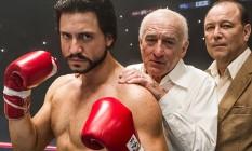 Edgar Ramirez, Robert De Niro e Rubén Blades em 'Punhos de aço' Foto: Divulgação