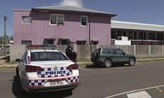 Equipe de emergência é acionada após ataque na cidade de Home Hill, no estado de Queensland Foto: AP