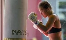 Ronda não lutará no UFC de Nova York Foto: AP Photo/Jae C. Hong