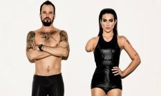 Campanha que mostra o ator Paulinho Vilhena e a atriz Cléo Pires como deficientes gerou polêmica Foto: Divulgação