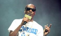 Snoop Dogg no show em que 40 fãs ficaram feridos Foto: Owen Sweeney / AP