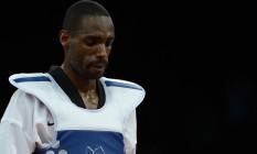 Diogo Silva em ação na Olimpíada de Londres-2012: lutador é desafeto da atual gestão da Confederação Brasileira de Taekwondo Foto: TOSHIFUMI KITAMURA / AFP
