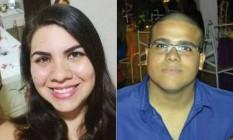 Maira e Rafael: encontrados mortos em banheiro Foto: Reprodução