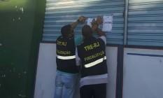 Fiscais lacram centro social na Zona Norte Foto: Divulgação