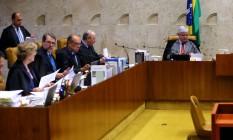 Quatro ministros do STF votam para manter regra de participação em debates Foto: Ailton de Freitas / Agência O Globo