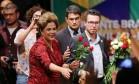 Temos que continuar lutando', afirma Dilma em último ato Foto: Ailton Freitas / Agência O Globo