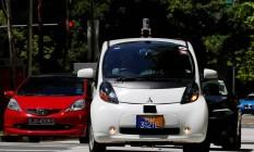 nuTonomy: primeiro táxi autônomo do mundo Foto: EDGAR SU / REUTERS