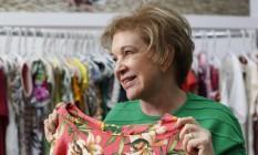 Marta Suplicy ( PMDB ) ,candidata à prefeitura de São Paulo, visita o Mega Polo Moda no Brás Foto: Edilson Dantas / Agência O Globo
