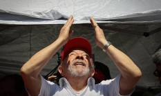 Ex-presidente percebeu baixa audiência e foi econômico ao comentar chances de concorrer ao Planalto em 2018 Foto: Pablo Jacob