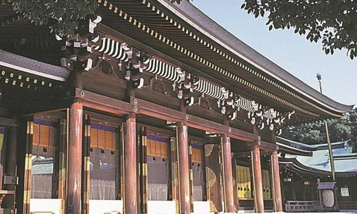 Santuário Meiji Jingu Foto: Divulgação
