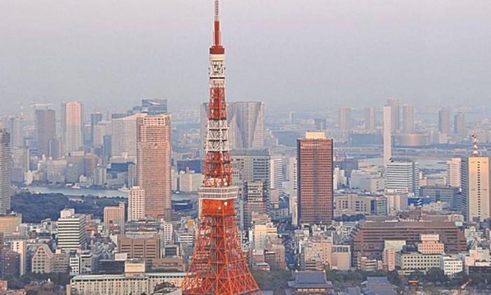 Torre de Tóquio Foto: Divulgação