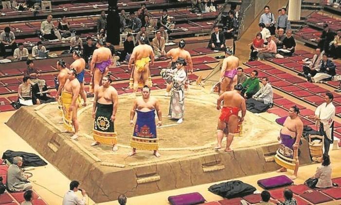 Estádio Ryogoku Kokugikan Foto: Divulgação