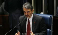 O procurador Júlio Marcelo afirma que Dilma 'cometeu delitos graves' Foto: Ailton Freitas / Agência O Globo