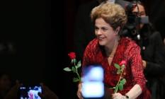 Dilma participa de ato contra o impeachment em Brasília na quarta-feira Foto: Ailton Freitas / Agência O Globo 24/08/2016