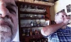 Lula e o ex-diretor da OAS Paulo Gordilho aparecem em foto no sítio de Atibaia (SP) Foto: Divulgação