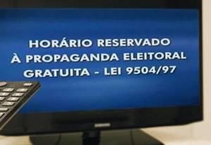 Propaganda dos candidatos começa nesta sexta Foto: Reprodução / TSE