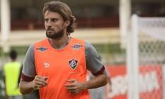 O zagueiro Henrique, do Fluminense: desafio da vez é parar Gabriel Jesus, do Palmeiras Foto: Mailson Santana / fluminense.com.br