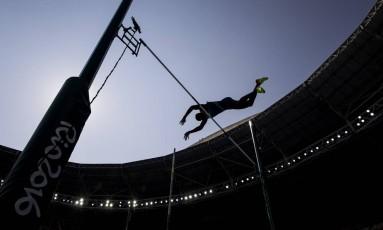 O Enganhão foi palco das competições de atletismo durante a Olimpíada Rio-2016 Foto: Adriano Vizoni / Folha de S.Paulo/ NOPP