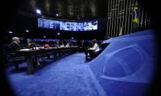 Senadores participam do julgamento final da presidente Dilma Rousseff Foto: Agência Senado