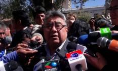 Vice-ministro do Interior, Rodolfo Illanes é visto nesta foto sem data divulgada pela Presidência da Bolívia Foto: HANDOUT / REUTERS