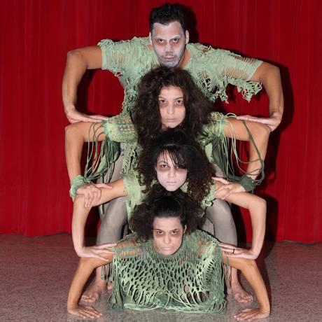 Cia de Arte Cadê vai apresentar o espetáculo de dança 'Pra que serve a escola?' Foto: Agência O Globo / Zeca Gonçalves